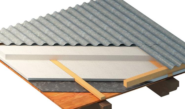Placas para techos ventilados poltech for Placas decorativas para techos